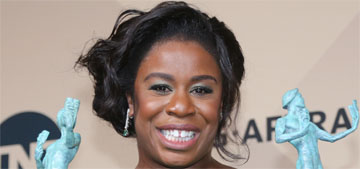 Uzo Aduba took her prom date and BFF to the SAGs: are they the cutest?