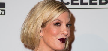 Tori Spelling is representing a psychic phone line now: good career move?