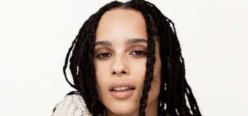 Zoe Kravitz: 'My mom would have killed me if I'd assumed any kind of privilege'