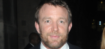 Guy Ritchie & Madonna didn't speak to each other when she visited London