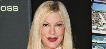 Tori Spelling downgrades to a $7.5k a month rental home with pool, gym