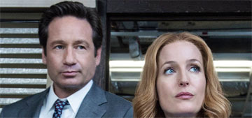 X-Files clip has Scully transforming into [redacted]: metaphor or real? (spoilers)