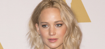 Jennifer Lawrence in Stella McCartney at the Oscar lunch: best dressed?