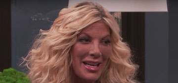 Tori Spelling has an alter ego called Terri who pees everywhere