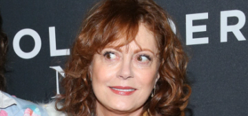 Susan Sarandon: Piers Morgan 'has way too much time of his hands, obviously'