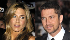 Jennifer Aniston hooking up with Gerard Butler, wants to move to Scotland