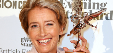 Emma Thompson suggests killing Academy members to solve #OscarsSoWhite