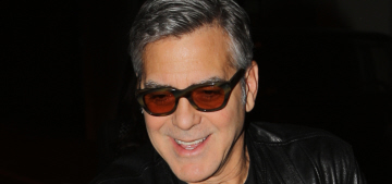 George Clooney: Extreme voices in America 'don't ever survive & we get past this'