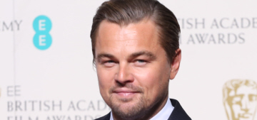 Leonardo DiCaprio won his first-ever BAFTA, posed happily with Tom Cruise