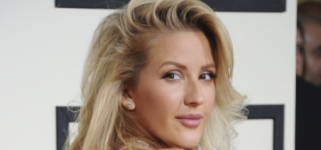Ellie Goulding in Stella McCartney at the Grammys: did she get new lips?