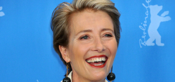 Emma Thompson: Britain is 'a cake-filled misery-laden grey old island'