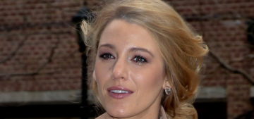 Blake Lively in Michael Kors at the NYFW show: amazing & contractual?