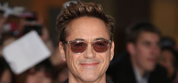 Robert Downey Jr. helps make a boy's superhero wish come true