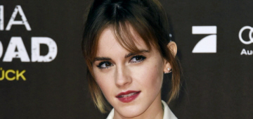 Emma Watson is taking a year off to read & learn more about feminism