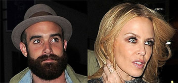 Kylie Minogue, 47, is engaged to 28 year-old actor Joshua Sasse