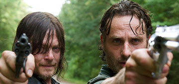 The Walking Dead 'do you want to tell me about your day?' (spoilers)