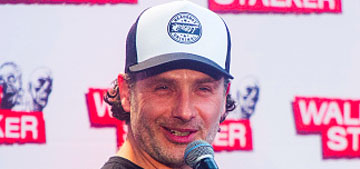 Andrew Lincoln on Walking Dead character's relationship: 'it feels right' (spoilers)
