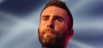 Adam Levine shows off his mermaid-angel back tattoo: gross, tacky or cool?