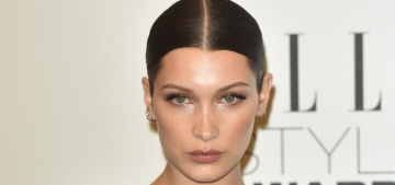 Bella Hadid tries to explain her dead-eyed look: 'I've got resting bitchface'