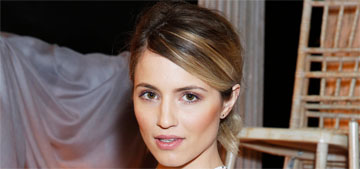 Dianna Agron debuts her engagement ring: gorgeous or cocktail ring?