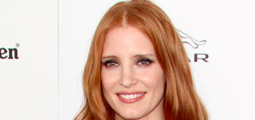 Jessica Chastain in Elie Saab at the Spirit Awards: pretty or ill-fitting?