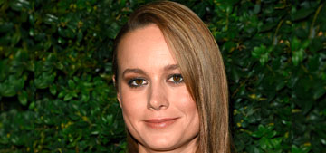 Brie Larson in Chanel at the Chanel pre-Oscar party: hot or garbage bag chic?