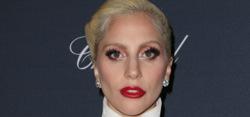 Lady Gaga in Brandon Maxwell at the Weinstein party: stunning or annoying?