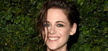 Kristen Stewart in Chanel at the Chanel pre-Oscar party: adorable or meh?