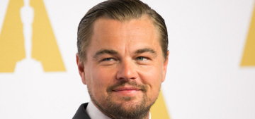 Leonardo DiCaprio wins the Oscar for Best Actor for 'The Revenant'