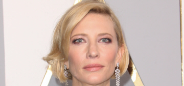 Cate Blanchett in seafoam Armani at the Oscars: one of the best looks ever?