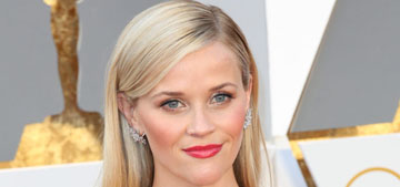 Reese Witherspoon & Tina Fey in exact shade of purple at the Oscars: no biggie?