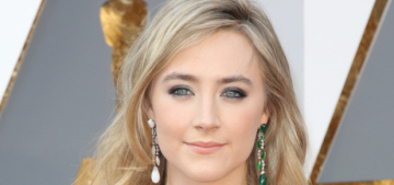 Saoirse Ronan in green Calvin Klein at the Oscars: gorgeous or boring?