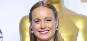 Brie Larson in blue Gucci at the Oscars: incredible or missed opportunity?