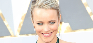 Rachel McAdams in satin August Getty at the Oscars: beautiful or budget?