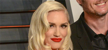 Gwen Stefani in Yanina at the VF Oscar Party: ridiculous or red hot?