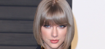 Taylor Swift in Alexandre Vauthier at the VF Oscar party: fab or fug?