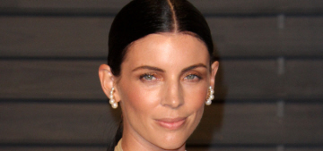 Did Liberty Ross wear her Dior wedding gown to the VF Oscar party?