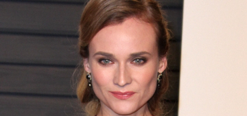 Diane Kruger in Reem Acra at the VF Oscar party: tacky, cheap or hot?