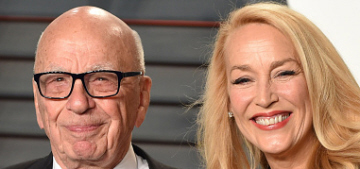 Jerry Hall & Rupert Murdoch to marry this weekend after 7-week engagement