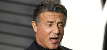 Sylvester Stallone on his Oscars loss: 'Never give in, never give up!'