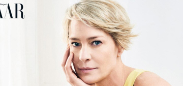 Robin Wright's mission statement: 'You don't have to be a bitch to be powerful'