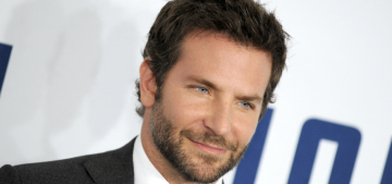 Why did Bradley Cooper have breakfast with Naomi Campbell this week?