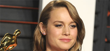 Brie Larson on sexist casting: 'Come back in a miniskirt and heels'