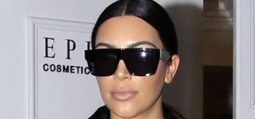 Kim Kardashian & Kanye had a huge fight over Saint West's first photo