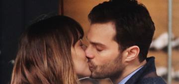 Dakota Johnson & Jamie bring vanilla realness to 'Fifty Shades Darker' set