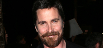 Christian Bale drives a second-hand pickup truck that he's had for 13 years