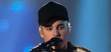 Did Justin Bieber borrow Kourtney Kardashian's $2690 Saint Laurent jacket?