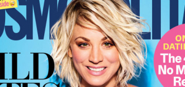Kaley Cuoco: 'Of course I'm a f–king feminist. Look at me. I bleed feminism.'