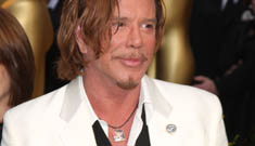 Don't talk smack about Mickey Rourke's dog