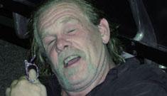 Nick Nolte's two hour rest on airport floor